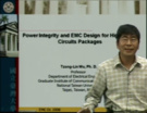 EMC - Tzong-Lin Wu - Power integrity design for high speed circuit packages