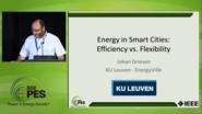 Smart Buildings, Smart Load, Smart Cities - Energy in Smart Cities: Efficiency vs. Flexibility (Video)