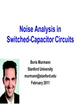Noise Analysis in Switched Capacitor Circuits