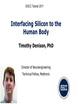 Interfacing Silicon to the Human Body