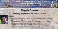 Plenary: Roving on Mars: New Challenges and New Opportunities for Image Processing
