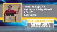 """What is Big Data Analytics and Why Should I Care?"""