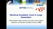 Electrical Insulation Used in Large Generators