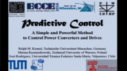 Predictive Control - A simple and Powerful Method of Control Power Converters and Drives Part I