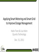 Applying Smart Metering and Smart Grid to Improve Outage Management - Case Studies and Lessons Learned Video