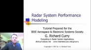 Radar System Performance Modeling Introduction