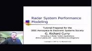 Radar System Performance Modeling Part 1
