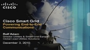 IEEE Smart Grid World Forum - Rolf Adam