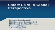 IEEE Smart Grid World Forum - James Prendergast