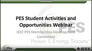 PES Student Activities and Opportunities (Spanish Version)