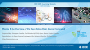 IEEE SDN: Open Baton Module 2 - An Overview of the Open Baton Open Source Framework