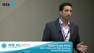 Toronto 5G Summit - 2015 - NEC's Vision and R&D Activities: Toward 5G Networks