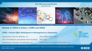 IEEE SDN: ONOS Module 4 - ONOS in Action / CORD and ONOS