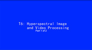 ICIP 2017 Tutorial - Hyperspectral Image and Video Processing [Part 1 of 2]