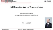 Millimeter-Wave Transceivers Video