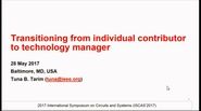 Transitioning from Individual Contributor to Technology Manager