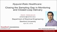 Nyquist-Rate Healthcare: Silicon Systems to Close the Sub-Sampling Gap in Health Monitoring? Video