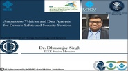 Video - Automotive Vehicles and Data Analysis for Driver Safety and Security Services
