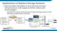 Battery Storage Technologies and Their Potential Applications in the Power Systems