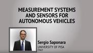 Measurement Systems and Sensors for Autonomous Vehicles