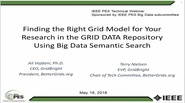 Finding the Right Grid Model for Your Research in the GRID DATA Repository Using Big Data Semantic Search
