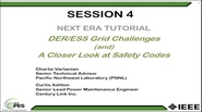 Energy Storage Tutorial: Session 4 of 4 - Grid Challenges of DER and ESS