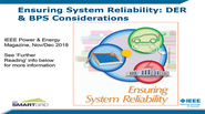 Distributed Energy Resources (DER) and Bulk Power System Reliability