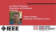mm-Wave Frequency Generation and Synthesis in Silicon Video