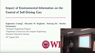 Impact of Environmental Information on the Control os Self-Driving Cars