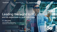 IEEE Future Networks: Leading the World to 5G and Its Expansion to New Industries