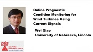 Online Prognostic Condition Monitoring for Wind Turbines Using Current Signals