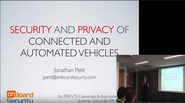 Security and Privacy of Connected and Automated Vehicles