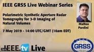 Polarimetric Synthetic Aperture Radar Tomography for 3-D Imaging of Natural Volumes