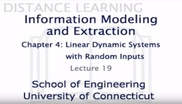 Information Modeling and Extraction Chapter 4 Lecture 19