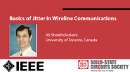 Basics of Jitter in Wireline Communications