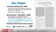 5G New Radio for Terrestrial Broadcast: A Forward Looking Approach for NR-MBMS