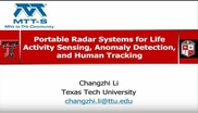Portable Radar Systems for Life Activity Sensing, Anomaly Detection, and Human Tracking