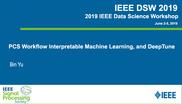 PCS Workflow Interpretable Machine Learning, and DeepTune