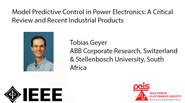 Model Predictive Control in Power Electronics-A Critical Review and Recent Industrial Products-Video