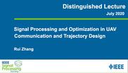 Signal Processing and Optimization in UAV Communication and Trajectory Design