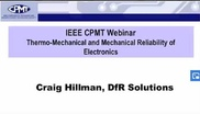 Thermo Mechanical and Mechanical Reliability of Electronics