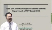 Signal Integrity of TSV-based 3D IC Video