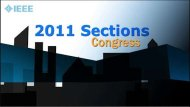 IEEE Sections Congress 2011