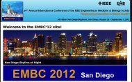 EMBC 2012: Engineering Innovation in Global Health