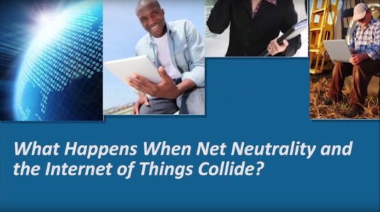 What Happens When Net Neutrality & The Internet of Things Collide? - IEEE Congressional Briefing