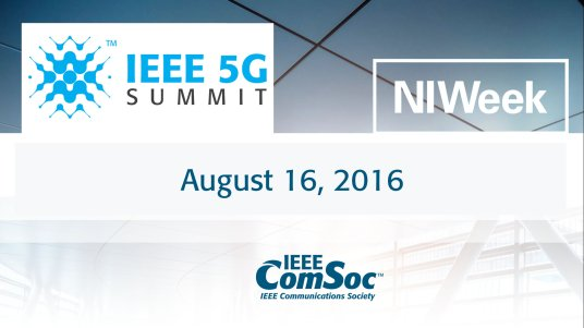 5G Summit at NI Week 2016