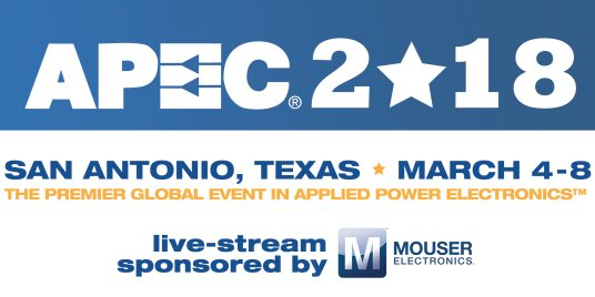 APEC 2018 - Applied Power Electronics Conference