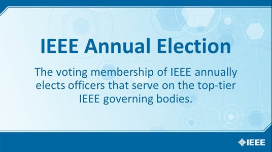 Meet the 2020 IEEE Presidential Candidates