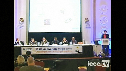 IEEE 125th Anniversary Media Event: Wireless Power