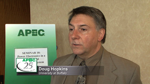 APEC Speaker Highlights - Doug Hopkins, University of Buffalo, Power Electronics/Smart-Grid